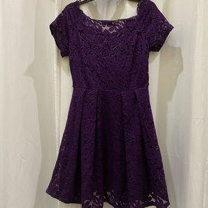 Brand NWT Miss Mny Lace Formal/Cocktail Dress - L